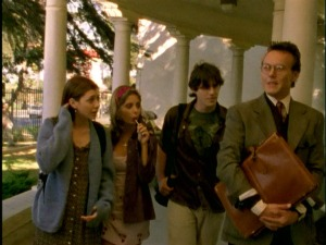 buffy, giles, willow, xander